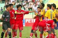 Đồng Tháp-Khánh Hòa 1-0: Suýt vỡ vì trọng tài!