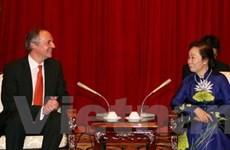 Phó Chủ tịch nước tiếp Giám đốc điều hành Unilever