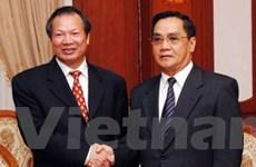 Thúc đẩy quan hệ hợp tác Quốc hội Việt-Lào