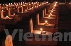 Quảng Trị: An táng 76 liệt sĩ hy sinh tại Lào