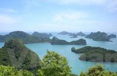 Hoạt động tuyến phà biển Tuần Châu-Cát Bà