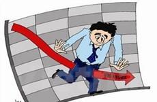 VN-Index xuống mức thấp nhất trong hơn 2 năm