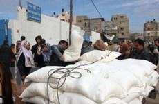 Israel tấn công đoàn xe nhân đạo của Liên hợp quốc
