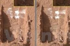 Phát hiện các dòng sông băng trên sao Hỏa