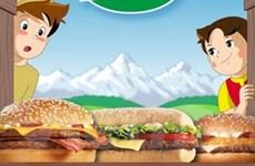 Cấm quảng cáo đồ ăn nhanh có thể giảm tỷ lệ trẻ em bị béo phì