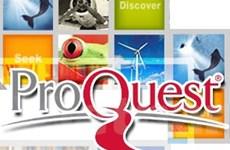 Đào tạo trực tuyến sử dụng ProQuest Central