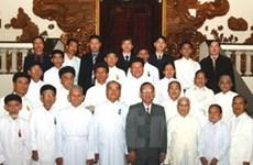 Phó Thủ tướng tiếp đoàn Ủy ban đoàn kết Công giáo VN