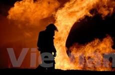 """Trạm cứu hỏa cũng bị """"bà hỏa"""" ghé thăm"""