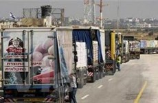 Israel tạm thời mở lại ba cửa khẩu ở Gaza