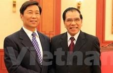 Tổng Bí thư tiếp đoàn Đảng Cộng sản Trung Quốc