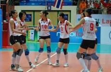 VN dự giải vô địch bóng chuyền nữ châu Á