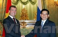 Việt Nam, Nga khẳng định quan hệ đối tác chiến lược