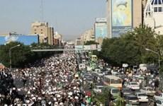 Biểu tình lớn ở Tehran phản đối kết quả bầu cử