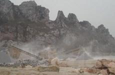 Lở đá tại Hà Giang làm 2 người thiệt mạng