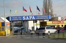 Trung tâm Sapa: Làng Việt Nam trên đất Séc