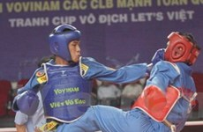 TP.HCM và Quân đội dẫn đầu giải Vovinam