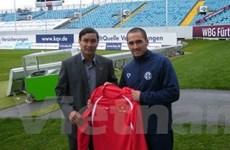 Christopher Nguyễn mong thi đấu trên quê nội