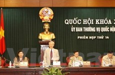 Ủy ban Thường vụ Quốc hội họp phiên thứ 14