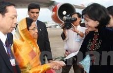 Tổng thống Ấn Độ đến Thành phố Hồ Chí Minh
