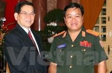 Quân đội Việt-Lào phối hợp đảm bảo an ninh