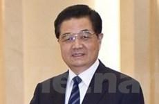 Chủ tịch Trung Quốc Hồ Cẩm Đào thăm Nga