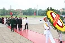 Lãnh đạo Đảng, Nhà nước viếng Bác Hồ