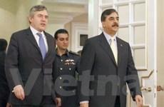 Thủ tướng Anh Gordon Brown thăm Pakistan