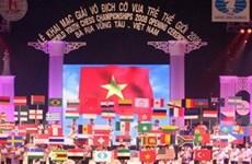 Giải cờ vua trẻ thế giới khai mạc tại Bà Rịa-Vũng Tàu