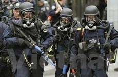"""Diễn tập an ninh tại khu vực """"Số 0"""" ở New York"""