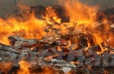Los Angeles bị phong tỏa bởi cháy rừng