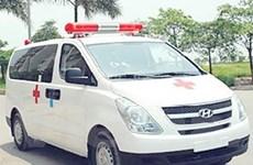 Bộ Y tế bàn giao 30 xe cứu thương phòng cúm A