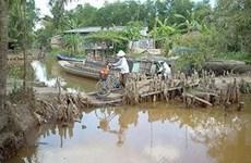 Mặn xâm nhập sâu trên hệ thống sông Mekong