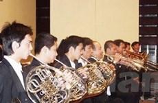 Dàn nhạc kèn Na Uy biểu diễn tại Việt Nam