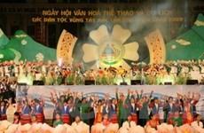 Ngày hội văn hóa các dân tộc vùng Tây Bắc