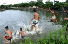 Thanh Hóa: Hai học sinh chết đuối do tắm hồ