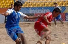 Lần đầu tổ chức giải bóng đá bãi biển toàn quốc