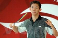 Giải cầu lông quốc tế: Tiến Minh là hạt giống số 1