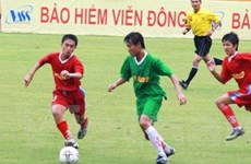 Khởi tranh vòng loại Giải bóng đá lứa tuổi 15