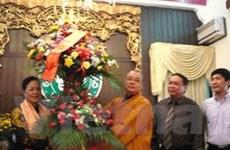 """""""Tạo mọi điều kiện tốt nhất cho Phật giáo"""""""