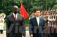 Hội đàm cấp cao giữa Việt Nam và Trung Phi