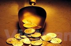 Vàng tăng lên gần 750 USD/ounce trên thị trường châu Á