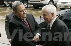 Mỹ-Israel cùng thảo luận vấn đề an ninh