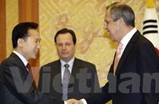 Nga, Hàn chủ trương nối lại đàm phán 6 bên