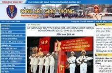 Khai trương website Cảnh sát giao thông