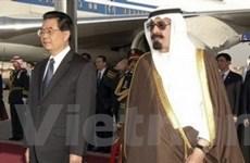 Chủ tịch Trung Quốc Hồ Cẩm Đào thăm châu Phi