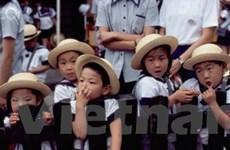 Nhật Bản ngày càng ít trẻ em dưới 15 tuổi