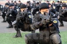 Trung Quốc diễn tập chống khủng bố
