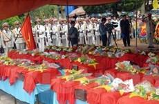 An táng 81 hài cốt liệt sỹ hy sinh tại Campuchia
