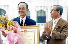 Tặng danh hiệu Anh hùng lao động cho GS Trần Đông A