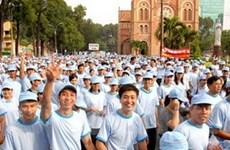 6.000 người đi bộ gây quỹ hỗ trợ trẻ bệnh tim